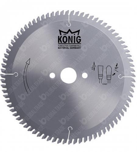König marka dairesel testere ile mdf ve laminantlar için çözümler